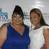 "Rhonda Wilkins and Demetria McKinney attended the ""Legendary Awards: Salute To The Legends Awards"" - February 9, 2012"
