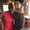 Roshunda Buchanan and Demetria McKinney attend Living the Dream Community Empowerment Summit - April 7, 2017 in Memphis, TN