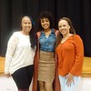 Anje Collins and Demetria McKinney attend Social Media Responsibility Conference - Hickory Ridge Middle School - April 8, 2017 in Memphis, TN