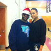 Kaspa & Demetria McKinney at Stone Mountain High & Freedom Middle School to support 'Toyz N Da Hood' - December 16, 2011