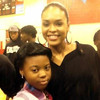 Abigail Hinds & Demetria McKinney at Stone Mountain High & Freedom Middle School to support 'Toyz N Da Hood' - December 16, 2011
