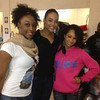 Demetria McKinney & Monay at Stone Mountain High & Freedom Middle School to support 'Toyz N Da Hood' - December 16, 2011