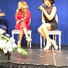 Latavia Roberson and Demetria McKinney attend The Phill Taitt Show - Dream Reach Inspire - April 29, 2017 in Brooklyn, NY