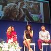 Latavia Roberson, Demetria McKinney and Johnathan Casillas attend The Phill Taitt Show - Dream Reach Inspire - April 29, 2017 in Brooklyn, NY