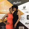 Brittany Cherinae' and Demetria McKinney attend The Phill Taitt Show - Dream Reach Inspire - April 29, 2017 in Brooklyn, NY