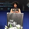 Demetria McKinney attend The Phill Taitt Show - Dream Reach Inspire - April 29, 2017 in Brooklyn, NY