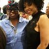 Nola Asantewaa and Demetria McKinney attend The Phill Taitt Show - Dream Reach Inspire - April 29, 2017 in Brooklyn, NY