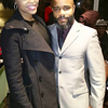Demetria McKinney and Marcel Middleton attend the To Live and Dream Again Benefit Dinner - December 18, 2015