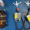 Wiring harness, ballasts and mounting brackets.