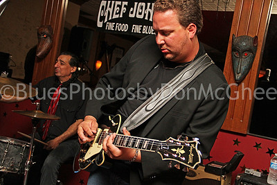 "Richie Corricelli, Josh ""The Pit Bull of Blues"" Rowand Pitbull of Blues Band"