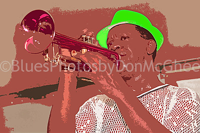 """Eric """"E K"""" Green - Larry Lee and The Back In The Day Band"""