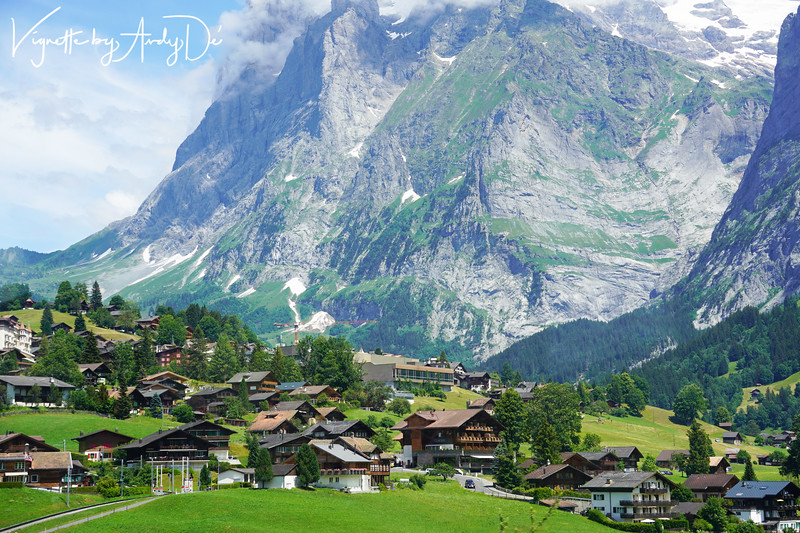 The classic 'Swiss Chalet' which are characteristic of the Alpine regions of Europe, are true icons of the Swiss heritage and are seen across the landscape, on the cogwheel train ride up to the Jungfrau!
