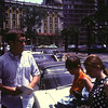 John Lemmerman, Jance and Jane on a street in Mexico