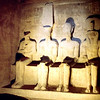 end of the tomb of Ramses II on lake Nassar, Abu Simble, pictures are no longer permitted, as they were in 1989