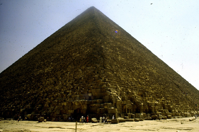Egypt 1989 cheops pyramid