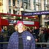 Trip to Engand, Scotland and France 1989 Oxford Circus Tube Station