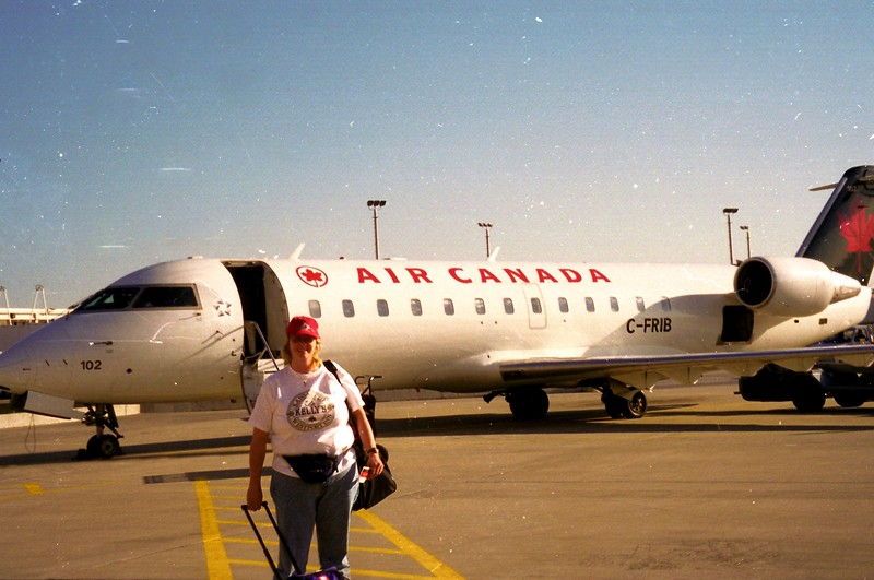 Trip to Engand, Scotland and France 1989 - Air Canada