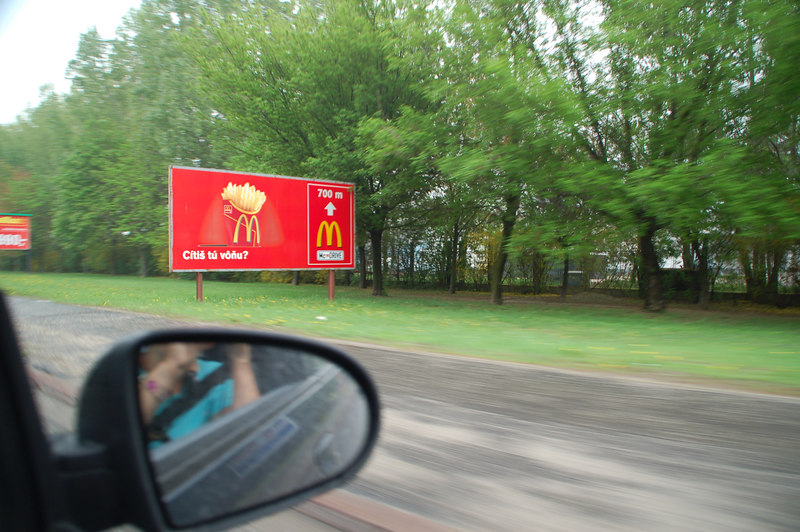 Mc Donalds in Austria with a McDrive