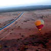 ballooning in alice springs, australia