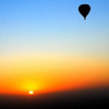 ballooning in Alice Springs over the outback at dawn