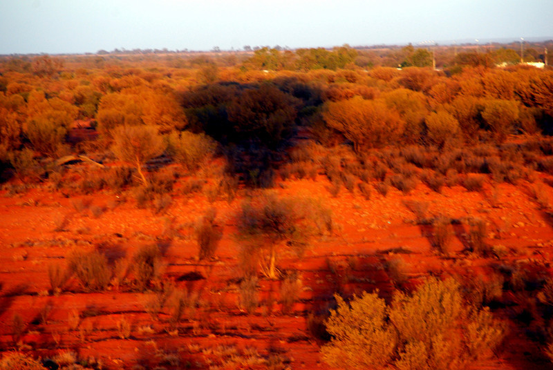 ballooning in alice springs, australia