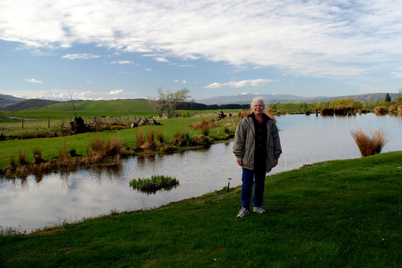 Home visit to a farm family in New Zealand