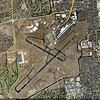 google earth map of Adelaide, Australia Airport