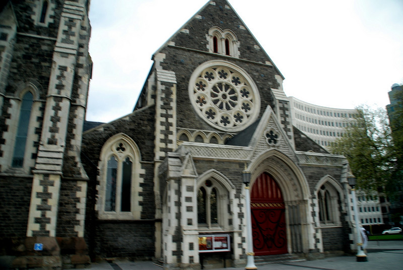 Christchurch to Queenstown, New Zealand damaged in the 2011 earthquake chc Christ Church, New Zealand