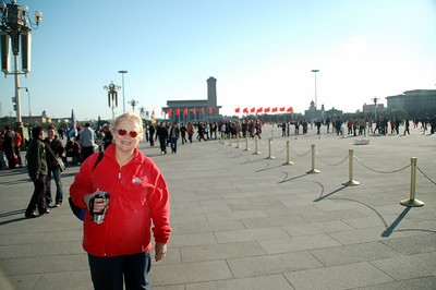 Tiananmen Square Betty Beijing China