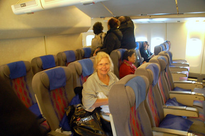China 1 Beijing Trip during Oct. 2005  Flying from SFO direct Beijing. United Airlines 747