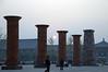 street scenes, China pillars
