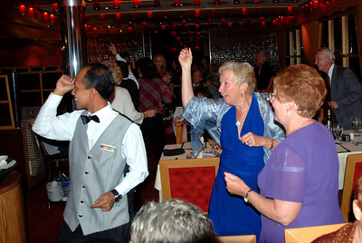 The Carnival Dream dinner and a dance