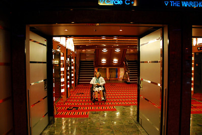 The Carnival Dream, main elevator area Deck 5