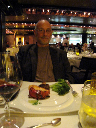 The Carnival Dream, The Steak House, special dinning on the Dream.