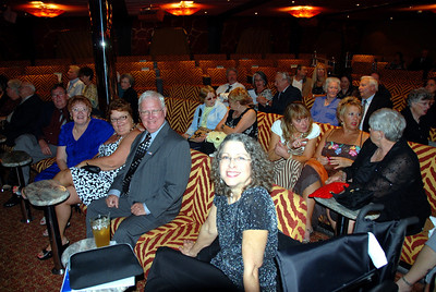 The Carnival Dream Encore theater main floor