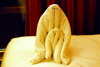The Carnival Dream, towel animals