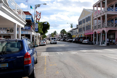 downtown Nassau main street picture