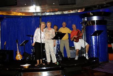 a new group of musicians on the ship