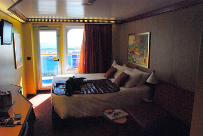 Carnival Dream Southern Caribbean Cruise  Spa Deck 11 room 11214 balcony state room spa room 11214 CLOUD 9 SPA PHOTOS
