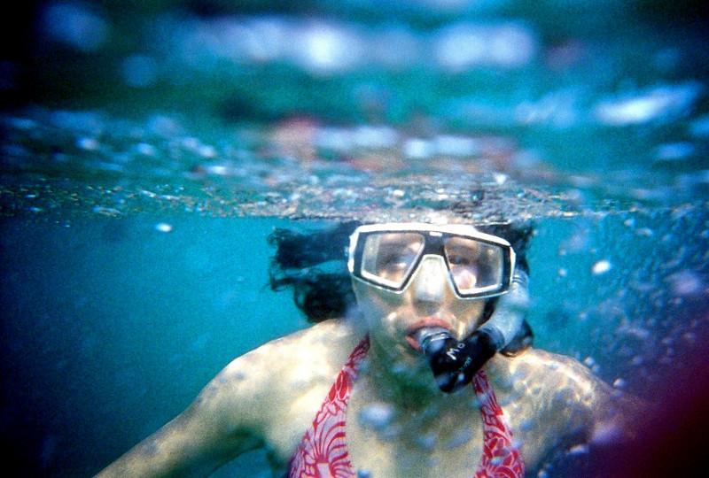 Leinster Bay snorkeling 2010