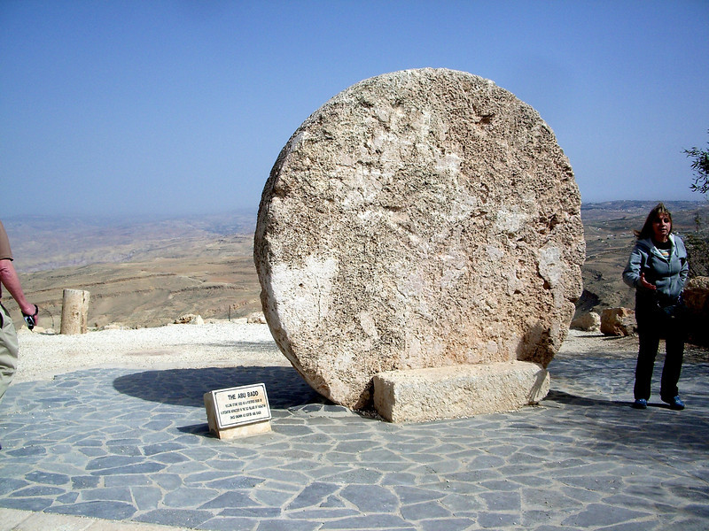 he Great Missing Rolling Stone From The Garden Tomb which Joseph of Arimathaea Cut for his own New Tomb