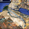 GPS map of my travels in EGYPT