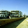 Egypt 1989 Nile river cruise boats.