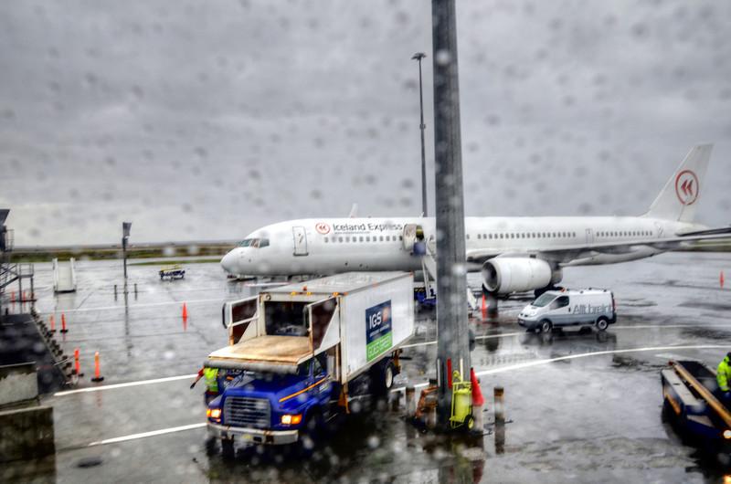 Reykjavik airport, Iceland 2011