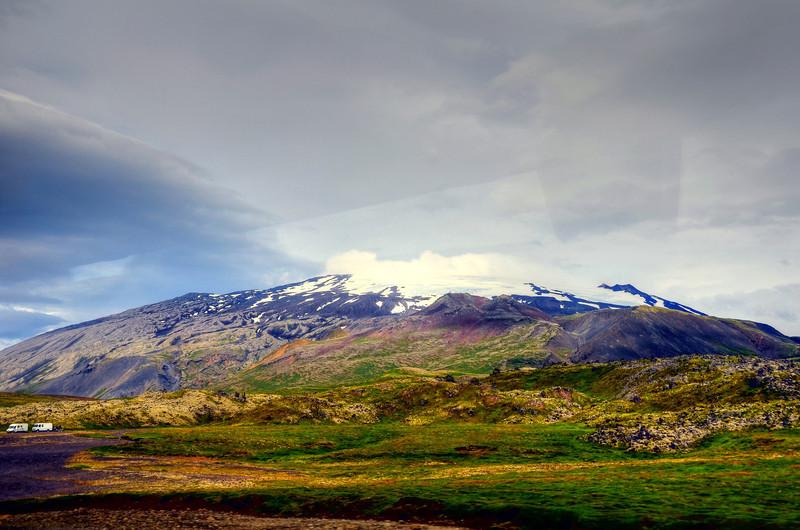 landscape, Iceland volcano 2011