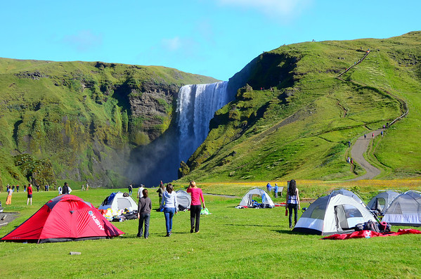 2011 Camping for Boy Scout and such Icelandic style