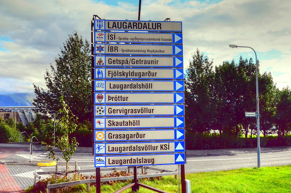 ICELANED SIGN POST 2011