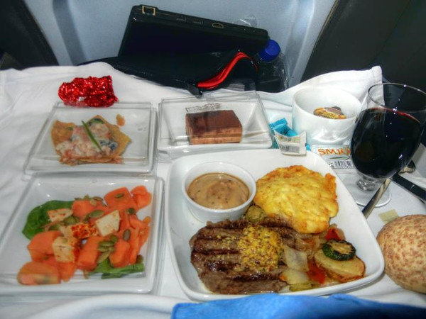 ICELAND AIR FIRST CLASS