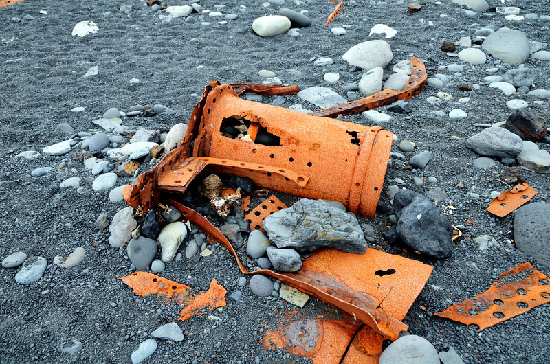 boat wreck, iceland 2011 trawler Epine