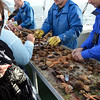 they fished, and we ate it fresh right off the catch, Iceland 2011